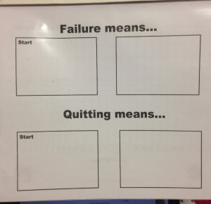 Failure, Quitting, and Making Mistakes Assignment