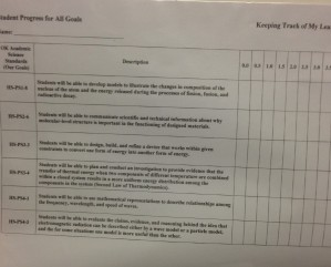 Page 2 Student Progress for all OASS Goals